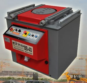 تجهیزات آرماتوربندی - دستگاه خم کن برقی