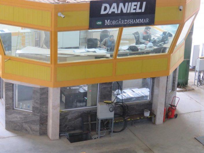 اتاق کنترل خط تولید میلگرد روهینا