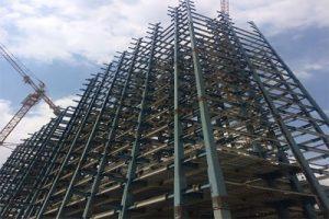 اشکالات اجرایی سازه های فولادی