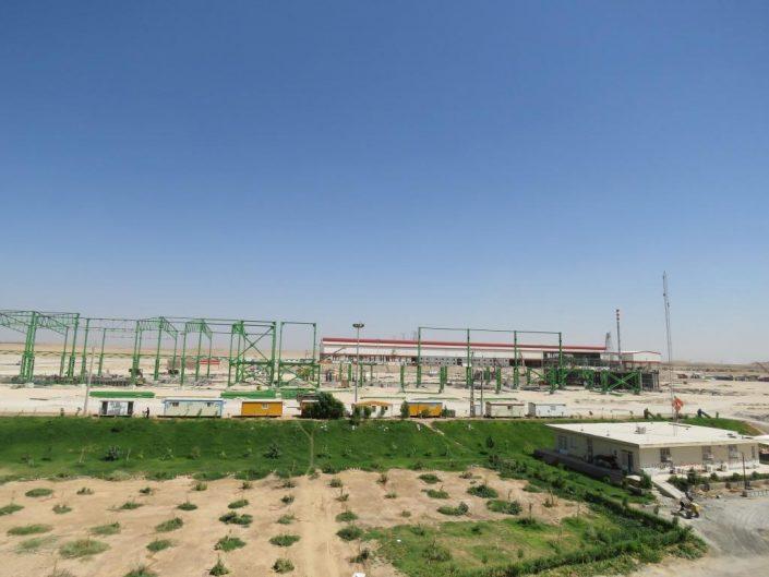 محوطه کارخانه روهینا